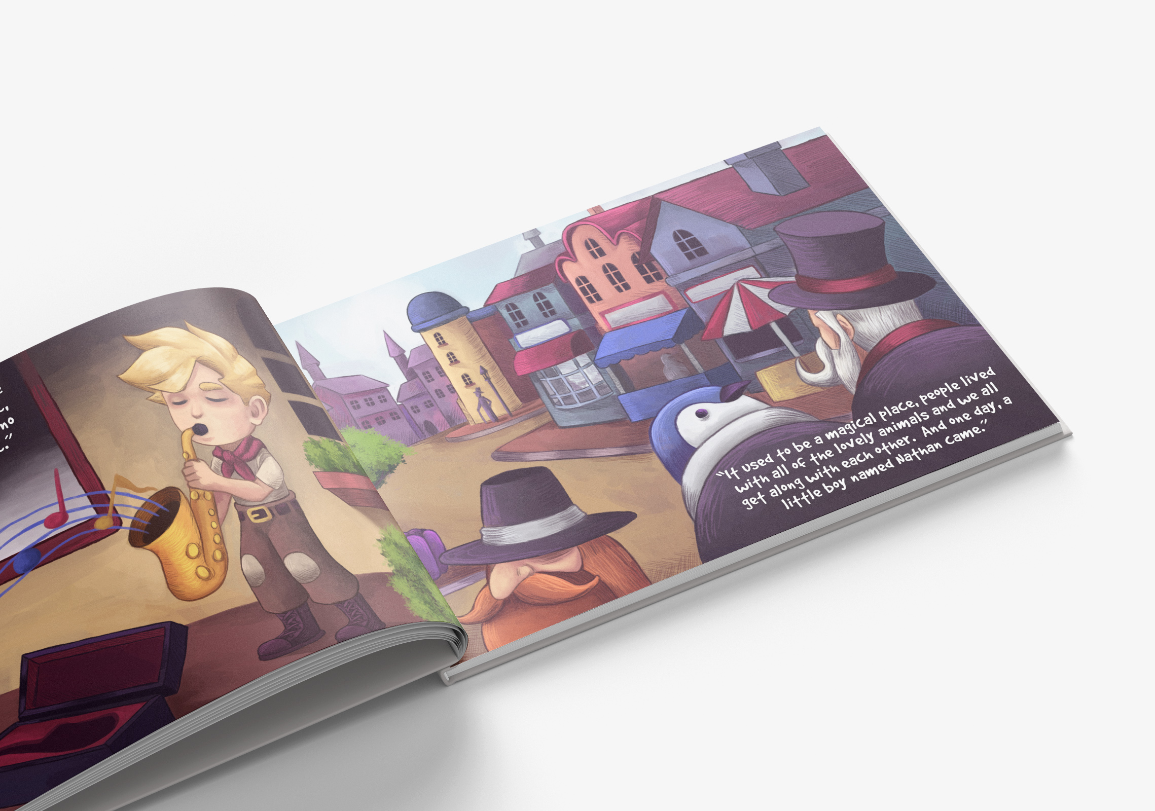 A Place You Should Not Go – Children's Book